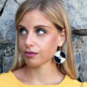 Gasira-Earrings-Black-Model02