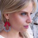 Nea-Earrings-Red-Zebra-Model01